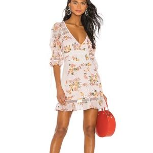 For Love and Lemons Isadora Mini Dress